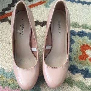 Target nude high heels size 6